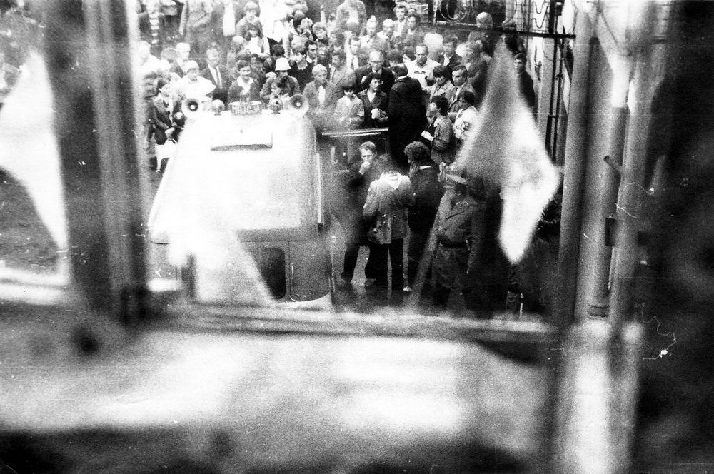Lengyelországi tüntetes | szamizdatos emlékek